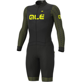 Alé Cycling PR-S Fuga DWR Ciclocross Skinsuit Heren, black-fluo yellow